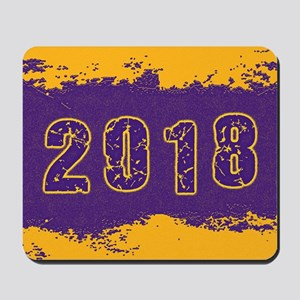 2018 Purple Gold Mousepad