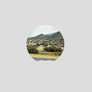 Mountain Digital art. Mini Button