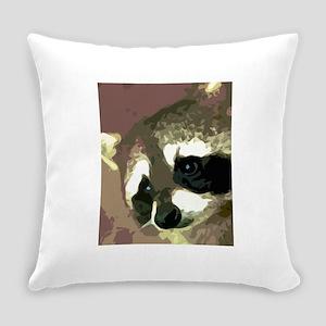 Raccoon Eyes Everyday Pillow