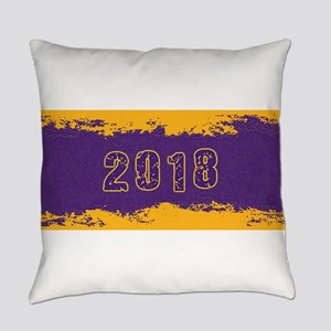 2018 Purple Gold Everyday Pillow