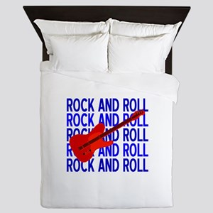Rock and Roll Guitar Queen Duvet