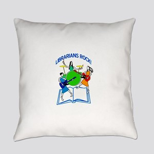Librarians Rock! Everyday Pillow