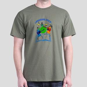 31c98affe1a Librarians Rock T-Shirts - CafePress