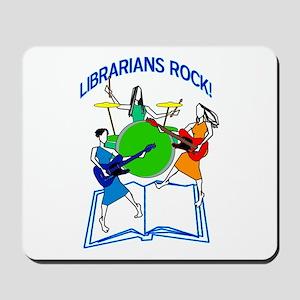 Librarians Rock! Mousepad