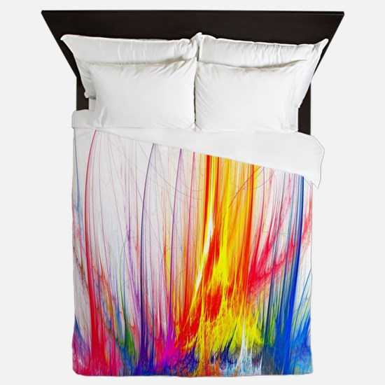 Funny Abstract art Queen Duvet