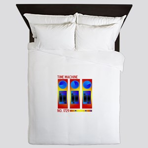 Your Very Own Time Machine Queen Duvet