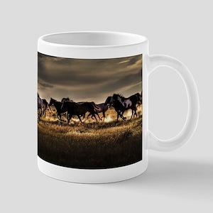 Wild Horses Running Free Mugs