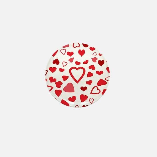 Hearts a'Plenty Mini Button