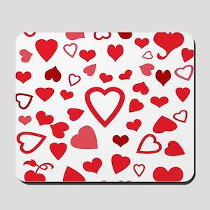 Hearts a'Plenty Mousepad