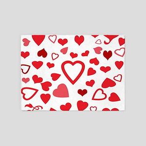 Hearts a'Plenty 5'x7'Area Rug