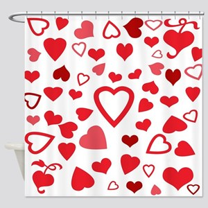 Hearts a'Plenty Shower Curtain