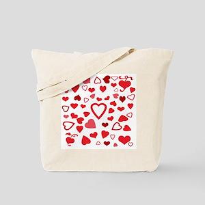 Hearts a'Plenty Tote Bag