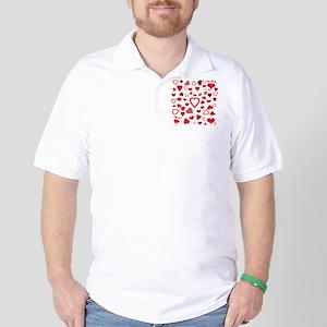 Hearts a'Plenty Golf Shirt