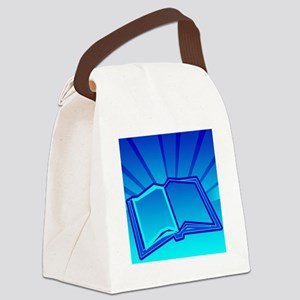 Glowing Book! Canvas Lunch Bag