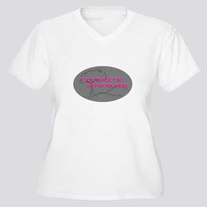 Your Image Here Oval Plus Size T-Shirt