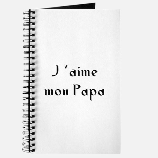 J 'aime mon Papa Journal