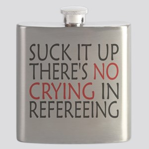 There's No Crying In Refereeing Flask