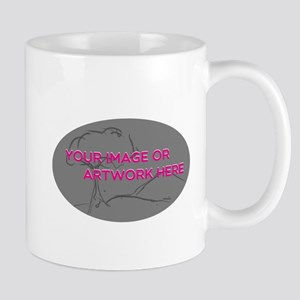Your Image Here Oval Mugs