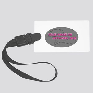 Your Image Here Oval Luggage Tag