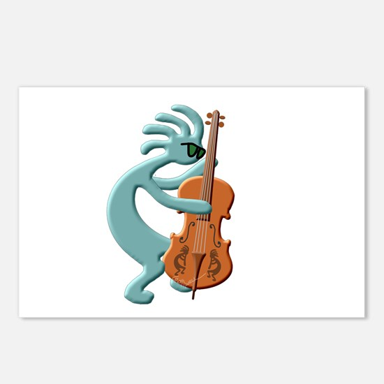 Jazz Bass Player Postcards (Package of 8)