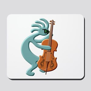 Jazz Bass Player Mousepad