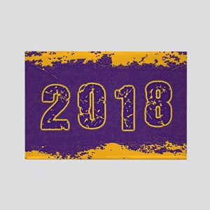 2018 Purple Gold Magnets