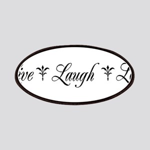 Live, Laugh, Love Patch