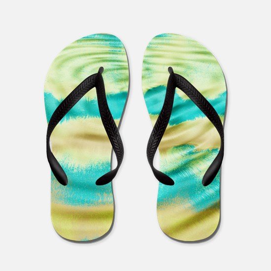 Tye dye Flip Flops