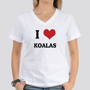I Love Koalas Ash Grey T-Shirt