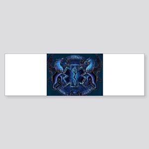EMS Blue Bumper Sticker