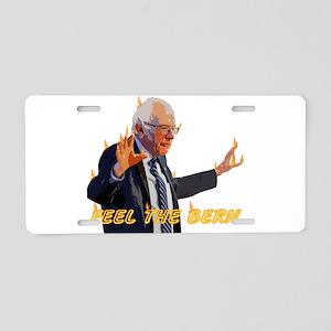 Feel The Bern Aluminum License Plate