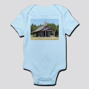 El Camino, church at Cruz de Ferro Body Suit
