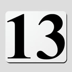 Number Thirteen Energy (13) Mousepad