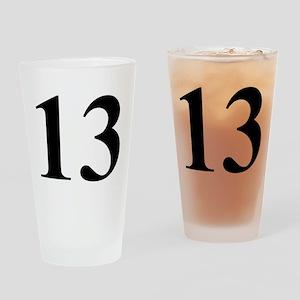 Number Thirteen Energy (13) Drinking Glass