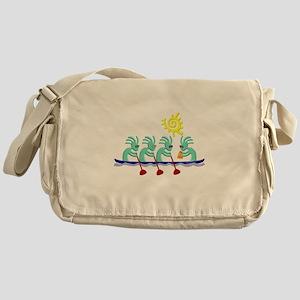 Kokopelli Rowing Messenger Bag