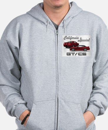 Cute California Zip Hoody