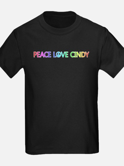 Peace Love Cindy T-Shirt