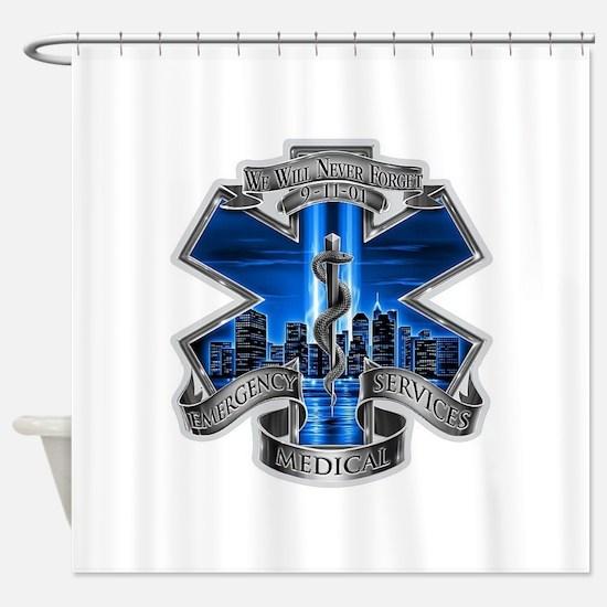 EMS 9-11 Shower Curtain