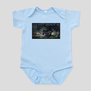 Purple Dragon Body Suit