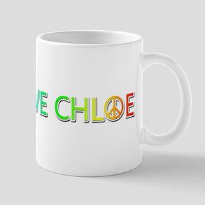 Peace Love Chloe Mugs