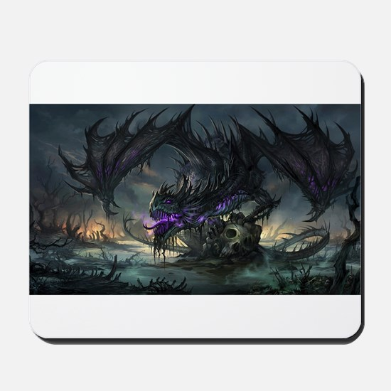 Purple Dragon Mousepad