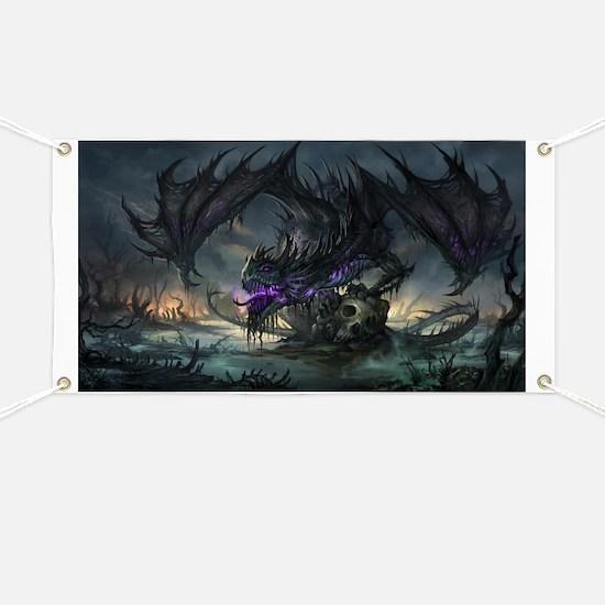 Purple Dragon Banner
