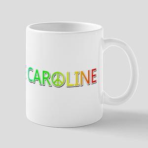 Peace Love Caroline Mugs