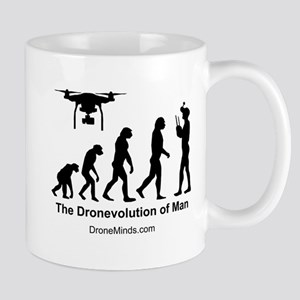 The Dronevolution of Man Mugs