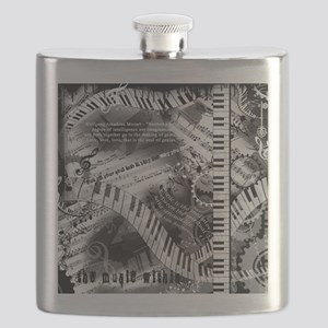 Piano Quote Flask