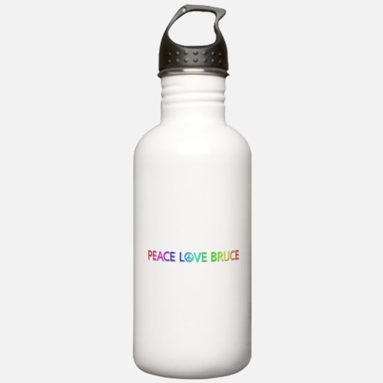 Peace Love Bruce Water Bottle