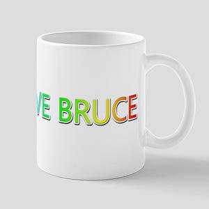 Peace Love Bruce Mugs