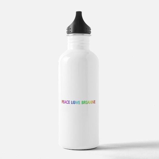 Peace Love Brianne Water Bottle