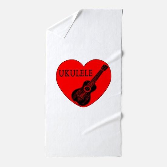 Ukulele Love Beach Towel
