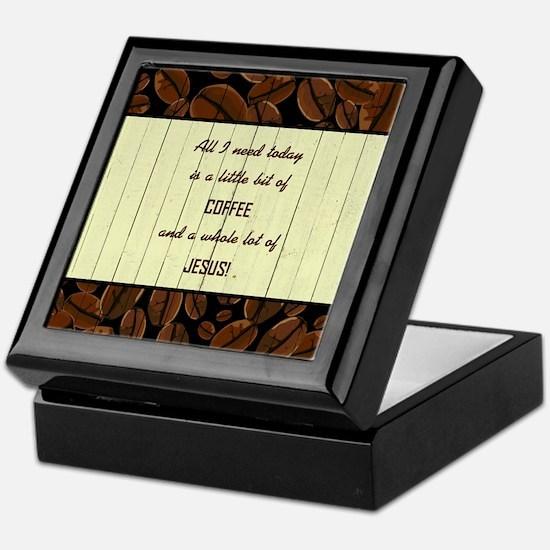 ALL I NEED TODAY... Keepsake Box